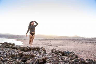 Amazing Dahab Mountains Photoshoot with Veronica Stein